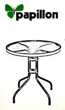 Papillon Tisch rund Lachea cm 60 x 70 H – Polyrattan Gartentisch *Ausstellung*