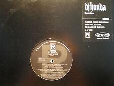 DJ HONDA - DJ HONDA (VINYL LP)  1996!!  RARE!!  GANG STARR + REDMAN + ALKAHOLIKS