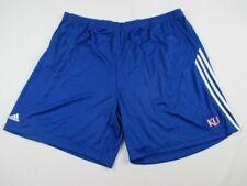 NEW adidas Kansas Jayhawks - Men's Blue Clima-lite Shorts (5XL)