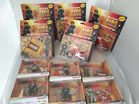 11x Fire Fighters Feuerwehrmann Action Figure Playset in Ovp - Simba / Chap Mei