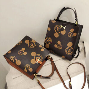 Disney Mickey Mouse Lady Shoulder Messenger Tote Bag Women Handbag FREE SHIP