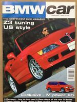 BMW Car Magazine - February 1999 - Z3 Tuning US Style, 3 Series Compact