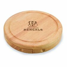 NFL Cincinnati Bengals Brie Cheese Board/Tool Set, 7-1/2 Inch, Picnic, Gift