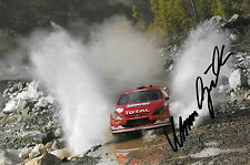 Marcus Gronholm SIGNED Total Peugeot 307  RallyTurkey 2004