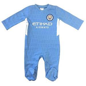 Manchester City FC Baby Kit Sleepsuit Babygrow | 2021/22