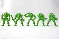 Fallout Enclave 5 Post Apocalyptic Figures 54mm Plastic Toy Soldiers Tehnolog