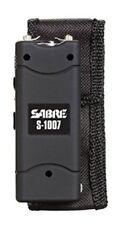 Sabre 3.8 Million Volt Black Stun Gun With LED Flashlight S-1007-BK **NEW** L@@K