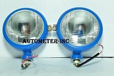 Ford Tractor Head Light Set LH  & RH  12 V Blue