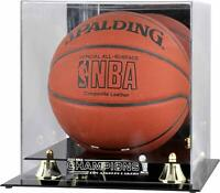 Los Angeles Lakers Golden Classic 2020 Finals Champs Basketball Display Case