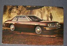 1979 Pontiac Sunbird Coupe Postcard Brochure Excellent Original 79