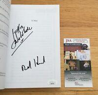 Jo Jo White Boston Celtics NBA HOF Dual Signed Autograph 100 Things Book JSA COA