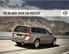 Volvo V70 Specification 2007-08 UK Market Brochure SE Lux Sport