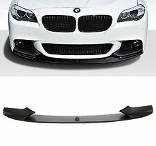 BMW 5 Series F10 F11 Gloss Black Front Splitter Valance MSPORT Lip