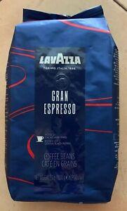 Lavazza Gran Espresso Whole Coffee Beans Medium Roast, 2.2lb Bag BB 8/21 (MCR)