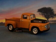 1950 50 FORD F-1 STEP SIDE PICKUP TRUCK 1/64 SCALECOLLECTIBLE MODEL - DIORAMA