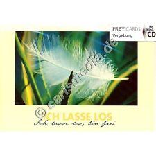 KARTE MIT CD: Ich lasse los (Vergebung) - Albert Frey - CD-Card *NEU