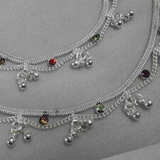 Silver Plated Baby Girl Child /Children / Kids bracelet anklet (payal)