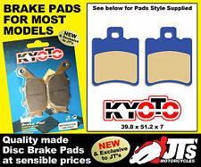 REPLICA FRONT FULL SET DISC BRAKE PADS HONDA SZX50 X8R XW XX XY X1 (98-04)