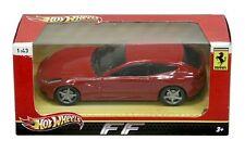 Ferrari FF Red 1/43 by Hot wheels X5534 *new*