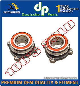 REAR WHEEL BEARING HUB HUBS for BMW E39 E60 525i 528i 540i 550i 33411095652 SET