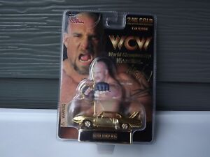 Racing Champions WCW 24k Gold Bill Goldberg Roadster 1:64 Car