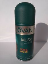 COTY JOVAN TROPICAL MUSK POUR HOMME 150 ml 95 g DEODORANT VERY RARE !