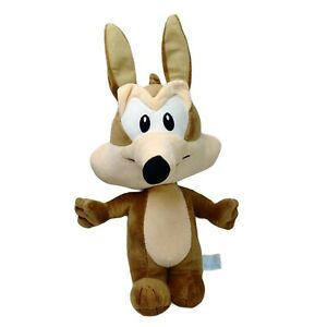 Looney Tunes Warner Bros Baby Coyote Plush Soft Stuffed Toy Washed Clean 42cm