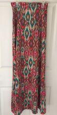 NWOT Mossimo Women's Long Maxi Skirt XS Xsmall Jr. Geometric Multicolor