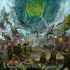 VISCERAL DECAY - CD - Obsessive Pathology To Eliminate The Scum Human Race