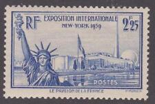 France 1939 #372 French Pavillion at New York World's Fair - MLH