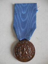 medaglia al valore militare in bronzo