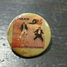 Vintage Police Every Little Thing She Does Button Pin 1 Inch Band Tour Concert