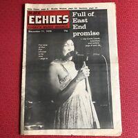 Black Echoes 11 Dec 1976 Linda Lewis, Billy Ocean, Carlos Santana, Muddy Waters