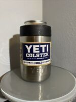 """Yeti Rambler Colster """"Best Koozie Ever""""Can and Bottle Holder Stainless No Sweat!"""