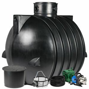 Regenwassertank, Zisterne Smart 6000 L Anlage Jet PKW-befahrbar bis 600 kg