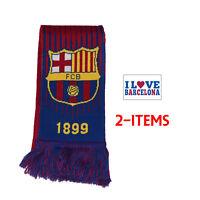 Barcelona scarf Reversible New Season sticker Soccer FC Barcelona Messi 10 Set 3