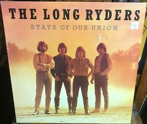 THE LONG RYDERS state of our union 1985 UK ISLAND STEREO VINYL LP