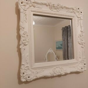 Vintage Style Baroque shabby Chic mirror.