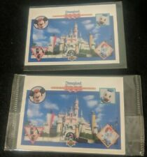 Disneyland 1991 Collector Card Set with Characters (5 cards) Mickey, Upper Deck