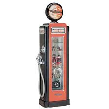 H-D® Harley Davidson Premium Gas Pump Display Case w/ Free Shipping