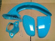 Honda C70 Passport 82-84 plastic combo BLUE side covers light fender READ! H2384