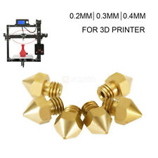 Anet 3D Printer Part Extruder Brass  Nozzle diameter: 0.2mm / 0.3mm/ 04mm -6mm