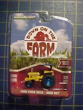 1/64 GREENLIGHT 1986 FORD 5610 TRACTOR OHIO DOT GREEN MACHINE CHASE! ON THE FARM