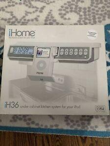 Ihome Ih36 Under Kitchen For Ipod