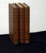HISTORY OF CIVILIZATION IN ENGLAND by Buckle  THREE 1913 BOOKS