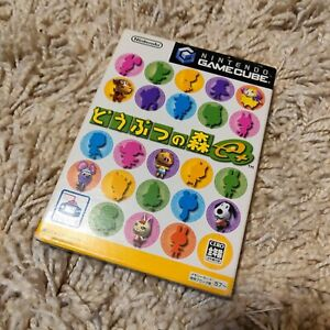 Dobutsu No Mori E+ Plus Animal Crossing Nintendo Gamecube Japan Import US SELLER