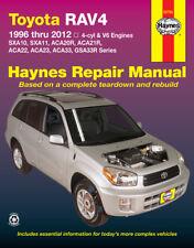 Toyota Rav4 Haynes Manual Workshop Manual Repair Manual 1996-2012