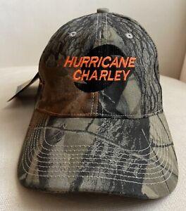 HURRICANE CHARLEY Hat Lineman Utility Realtree Camo Cap Orlando Utilities 2004