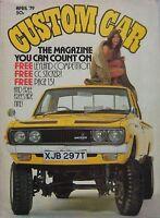 Custom Car magazine April 04/1979