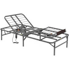 Electric Adjustable Bed Frame Twin XL Remote Head Foot Lift Folding Platform New